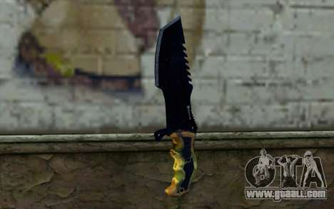 Knife from COD: Ghosts v1 for GTA San Andreas