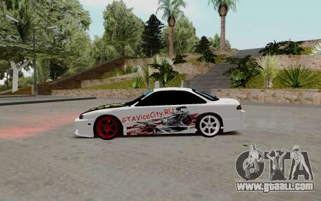 Nissan Silvia S14 VCDT for GTA San Andreas left view