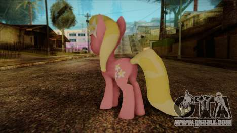 Lily from My Little Pony for GTA San Andreas second screenshot