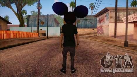 Deadmau5 Skin for GTA San Andreas second screenshot