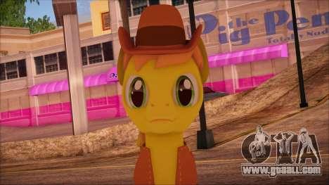 Braeburn from My Little Pony for GTA San Andreas third screenshot