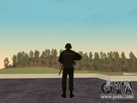 Soldiers of the MIA of the Russian Federation for GTA San Andreas second screenshot
