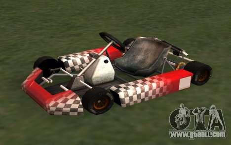 Updated Kart for GTA San Andreas for GTA San Andreas