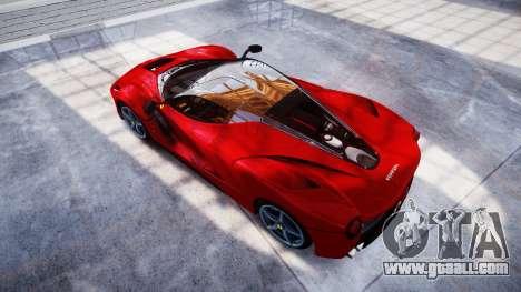 Ferrari LaFerrari for GTA 4 right view