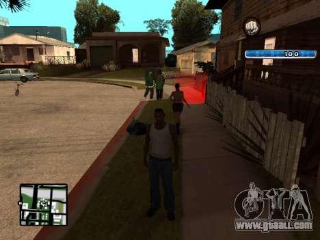 C-HUD by SampHack v.17 for GTA San Andreas