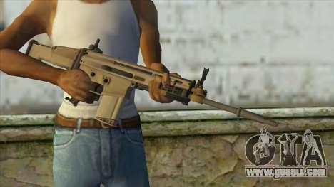 AK12 from Battlefield 4 for GTA San Andreas third screenshot