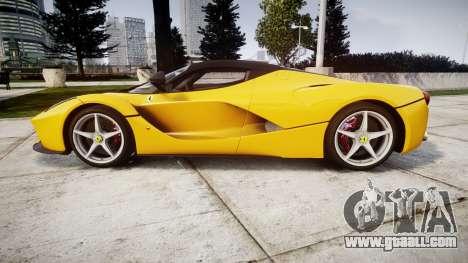 Ferrari LaFerrari [EPM] v1.2 for GTA 4 left view