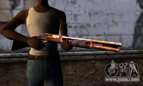 Chromegun v2 Rusty for GTA San Andreas third screenshot