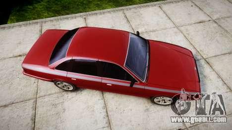 Vapid Stanier Rims Minivan for GTA 4 right view