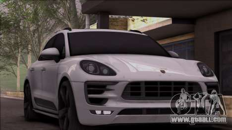Porsche Macan for GTA San Andreas