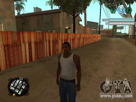 Respect C-HUD for GTA San Andreas