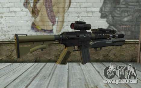 M4 MGS Aimpoint v3 for GTA San Andreas second screenshot