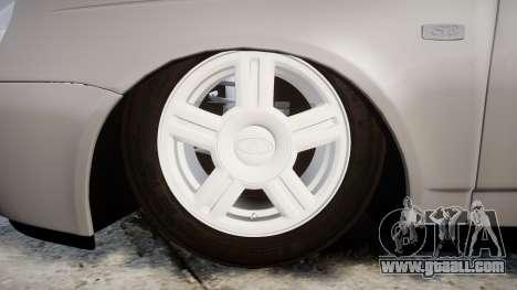 VAZ-2170 Priora alloy wheels for GTA 4 back view