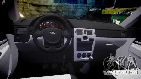 VAZ-2170 Priora alloy wheels for GTA 4 inner view