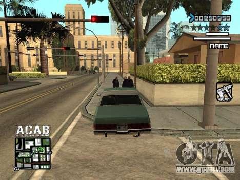 C-HUD by Edya for GTA San Andreas third screenshot