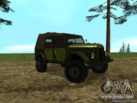 GAZ-69 for GTA San Andreas