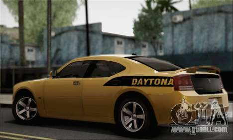 Dodge Charger SuperBee for GTA San Andreas left view