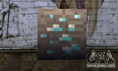 Block (Minecraft) v1 for GTA San Andreas