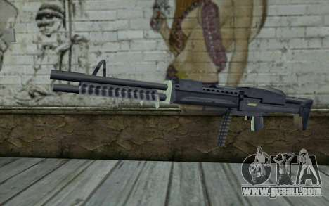 M60 from GTA Vice City for GTA San Andreas