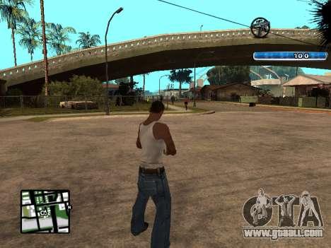 C-HUD by SampHack v.17 for GTA San Andreas second screenshot