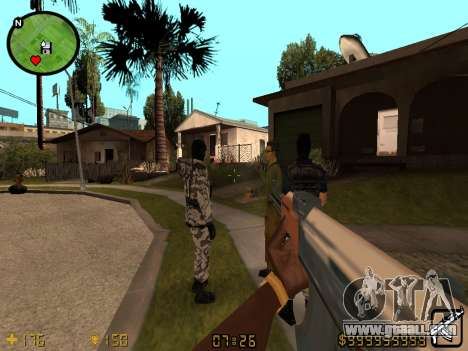 Counter-Strike HUD for GTA San Andreas
