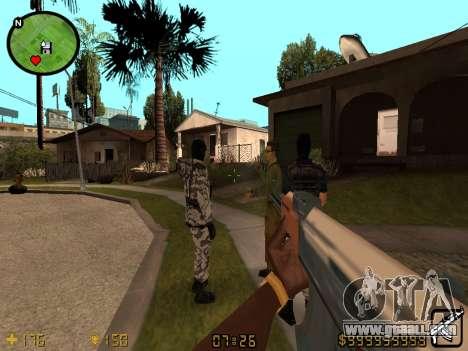 Counter-Strike HUD for GTA San Andreas