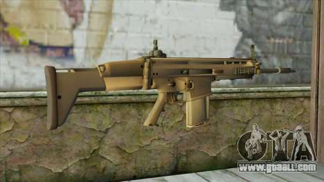 AK12 from Battlefield 4 for GTA San Andreas second screenshot