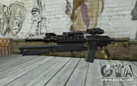 M4 MGS Aimpoint v3 for GTA San Andreas