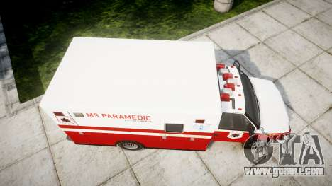 Vapid V-240 Ambulance for GTA 4 right view