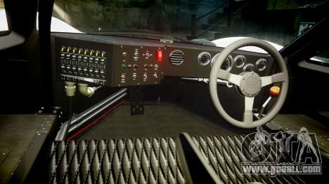 Ford GT40 Mark IV 1967 PJ Meyer 30 for GTA 4 back view