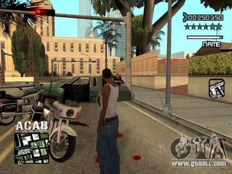 C-HUD by Edya for GTA San Andreas forth screenshot