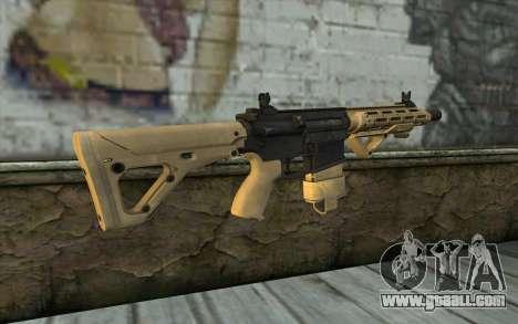 AR-25c for GTA San Andreas second screenshot