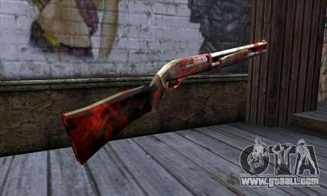 Chromegun v2 Apocalypse coloring for GTA San Andreas second screenshot