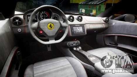 Ferrari California [EPM] v1.5 for GTA 4 inner view