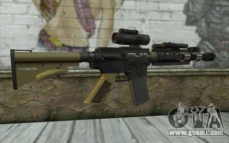 M4 MGS Aimpoint v2 for GTA San Andreas second screenshot