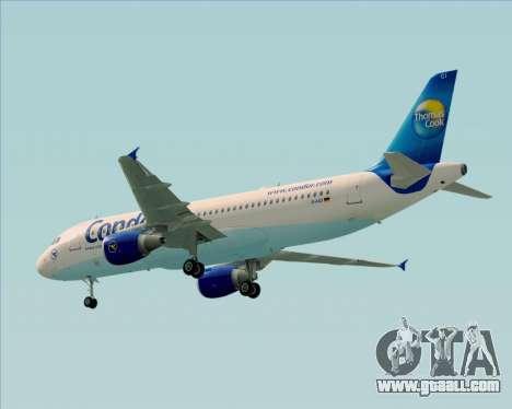 Airbus A320-200 Condor for GTA San Andreas right view