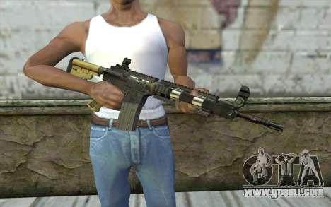 M4 MGS Iron Sight v1 for GTA San Andreas third screenshot