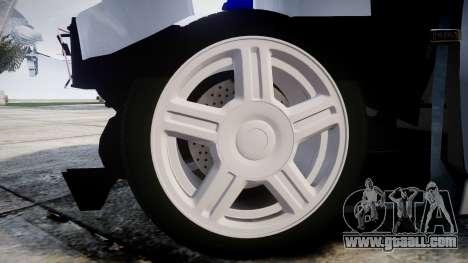 VAZ-2112 hobo for GTA 4 back view