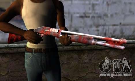 Chromegun v2 Apocalypse coloring for GTA San Andreas third screenshot