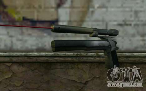AMT Hardballer Longslide with Laser Sight for GTA San Andreas
