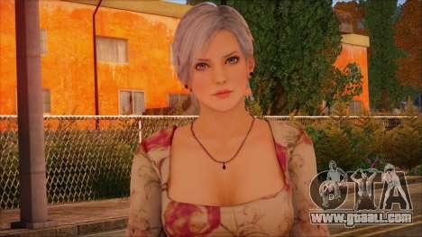Modern Woman Skin 1 for GTA San Andreas third screenshot