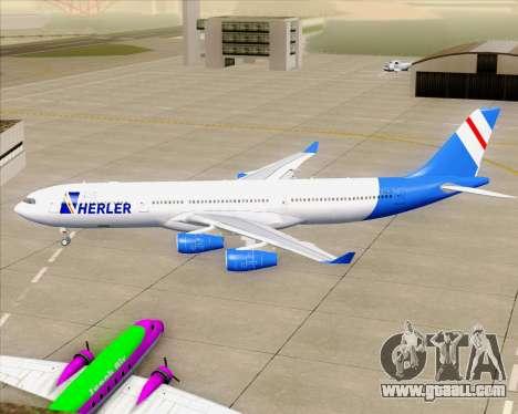 Airbus A340-300 Air Herler for GTA San Andreas