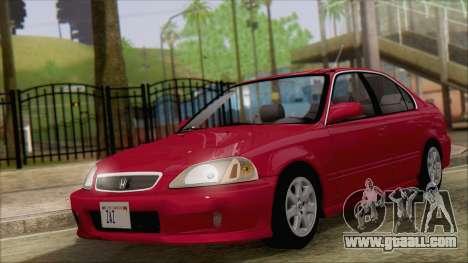 Honda Civic 2000 for GTA San Andreas