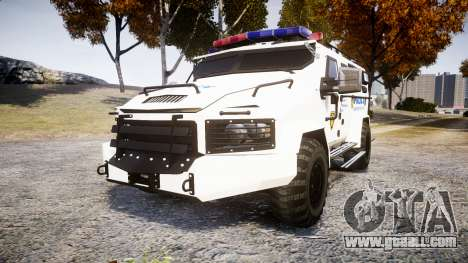 SWAT Van Police Emergency Service [ELS] for GTA 4