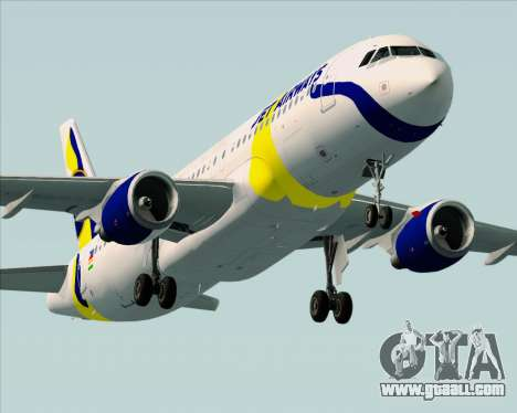 Airbus A320-200 Jet Airways for GTA San Andreas engine