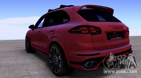 Porsche Cayenne Turbo S GTS 2015 for GTA San Andreas right view