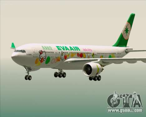 Airbus A330-200 EVA Air (Hello Kitty) for GTA San Andreas interior