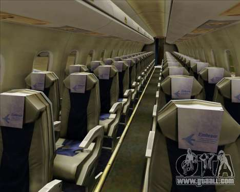 Embraer E-190-200LR House Livery for GTA San Andreas wheels