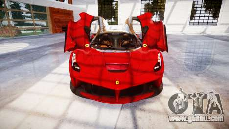 Ferrari LaFerrari for GTA 4 upper view