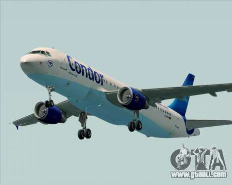 Airbus A320-200 Condor for GTA San Andreas engine